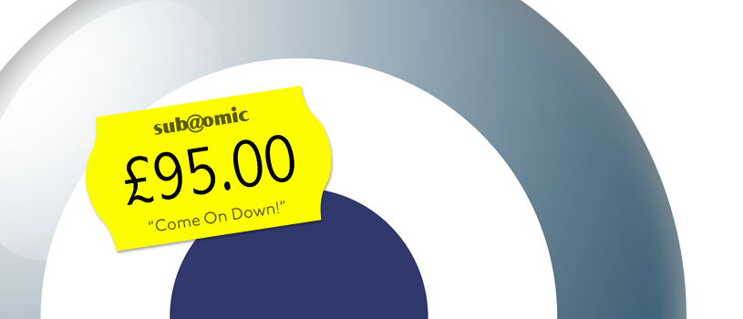 Sub@omic website pricing