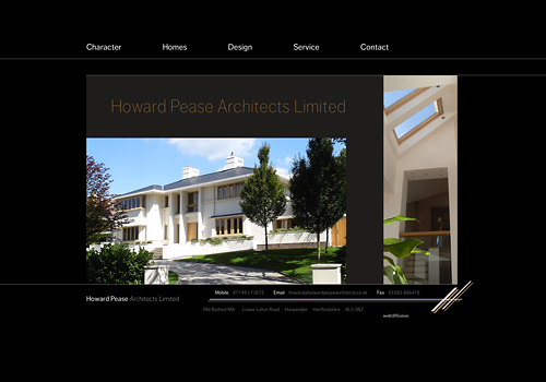 The #1 Google-ranking designer website for Harpenden's #1 architect.